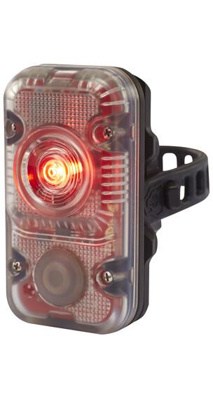 Lupine Rødt lys Cykellygter hvid/sort